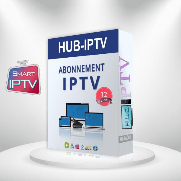 Abonnement IPTV 12 mois